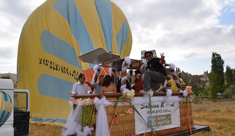 Balonda Düğün Turkey Weddings