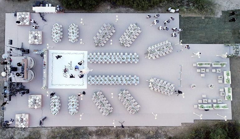 Kapadokya Aşk Vadisi Düğünü Setup