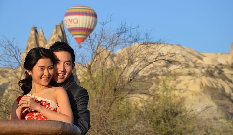 Kapadokya Balon Benimle Evlenir Misin