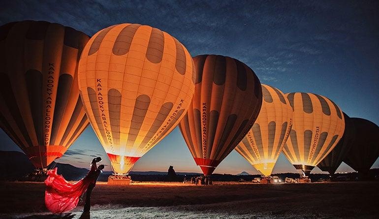 Kapadokya Balon Evlenme Teklifi
