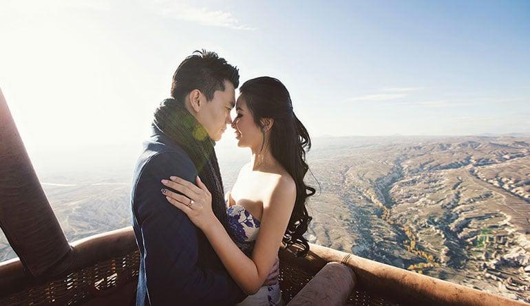 Kapadokya Romantik Evlenme Teklifi