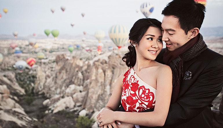 Kapadokya Romantik Evlilik Teklifi