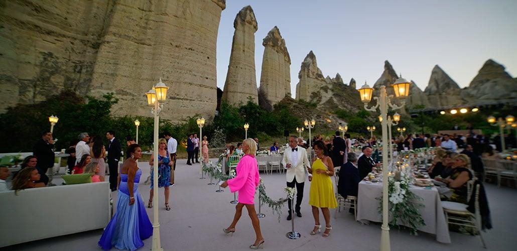 Kapadokya Aşk Vadisi Düğün